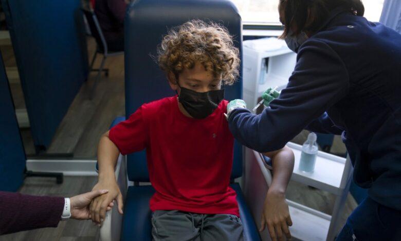 Çocuklar için aşı